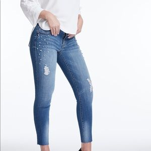 1822 Pearl Studded Skinnies
